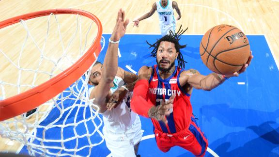 Vintage D-Rose makes appearance in 23-point performance