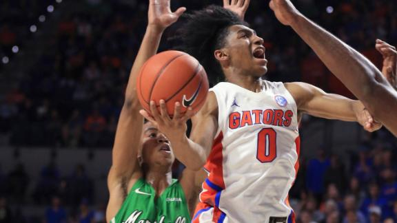Freshman Glover powers Gators to victory