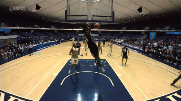Duke dunks to cut into Charleston's lead