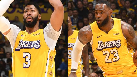 LeBron, AD power Lakers to defeat Wizards