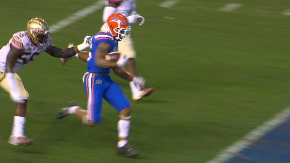 Florida strikes on opening drive with Swain TD