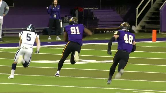 Northern Iowa cashes in with pick-six