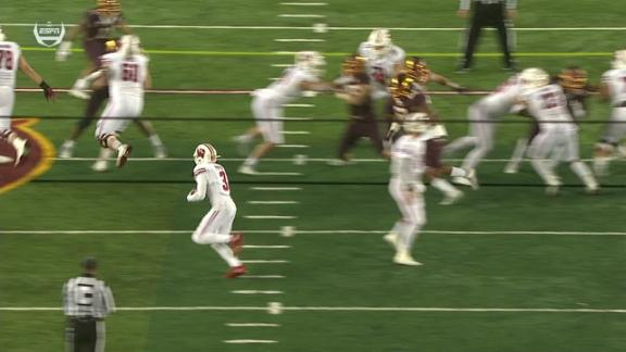 Wisconsin gets tricky on TD drive
