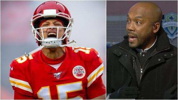 Riddick not counting out the Chiefs in the AFC