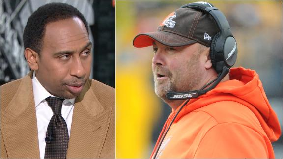 Stephen A. is sick of Freddie Kitchens' excuses