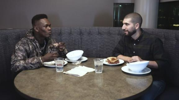 Adesanya compares himself and Costa to Aldo vs. McGregor