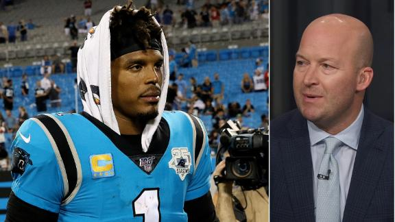 Hasselbeck expects Newton to be with Panthers next season