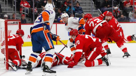 Eberle nets a pair of goals in Isles' win