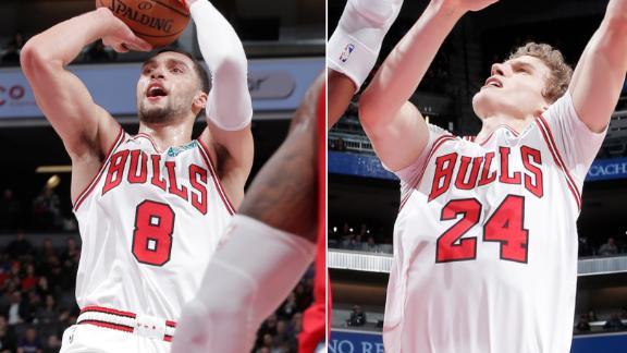 LaVine, Markkanen push Bulls past Kings on the road