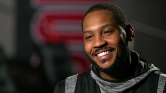Melo balancing family life with return to NBA