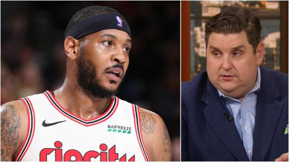 Windhorst stunned by how good Melo has been physically