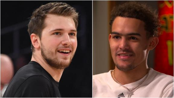 Young annoyed, but understands questions about Doncic