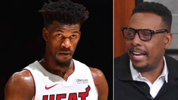 Pierce doesn't believe Heat are contenders yet