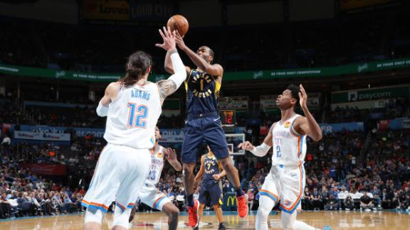 Warren tops all scorers with 24 in Pacers' win