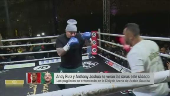 Entrenador de Andy Ruiz despeja dudas: 'Van a ver su mejor versión'