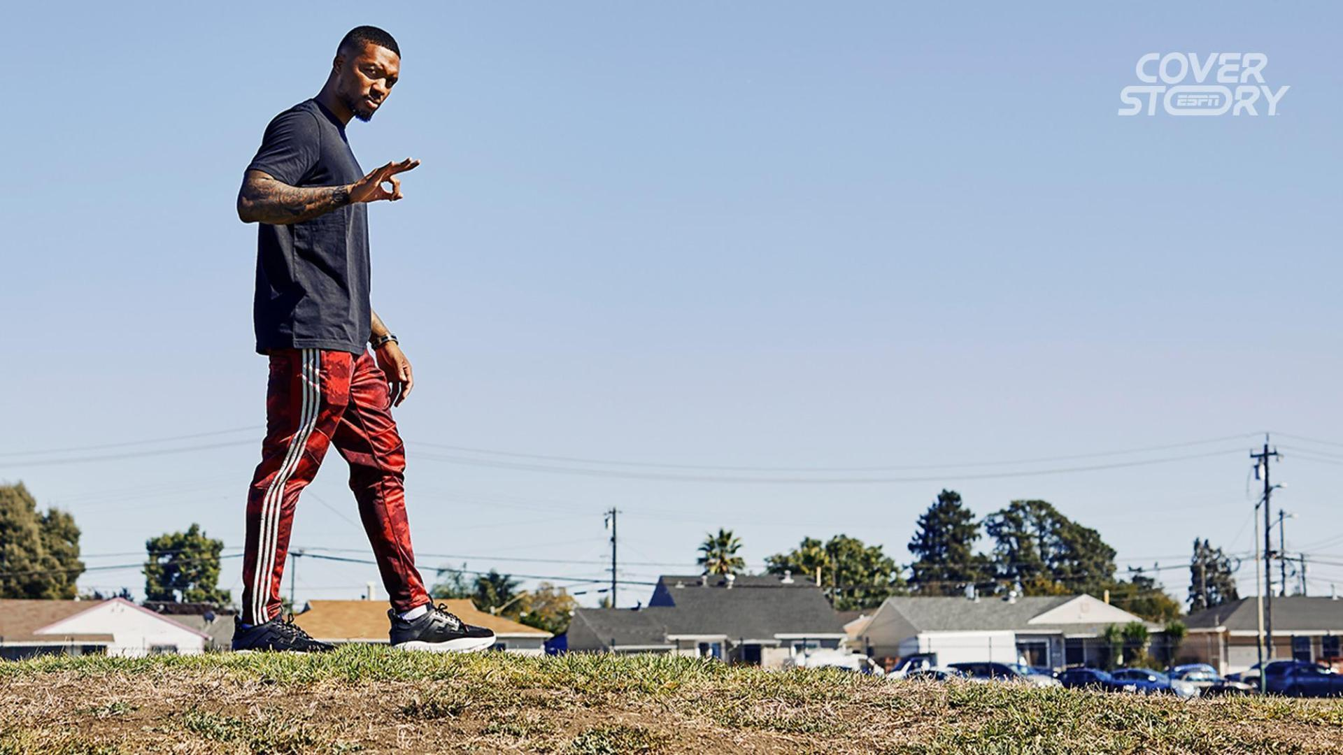 How Damian Lillard remains loyal to the soil he was raised on
