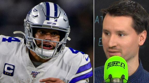 Clay: Prescott has a tough matchup vs. Bears