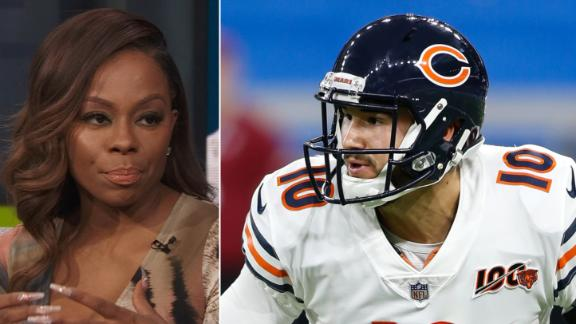 Anderson: Trubisky's performance is key for Bears