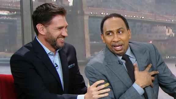 Stephen A. loses his mind over Foxworth's Aaron Rodgers diss