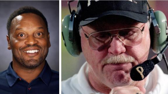 Sumlin, Tiller share a poignant moment during a Purdue vs. Ohio State game