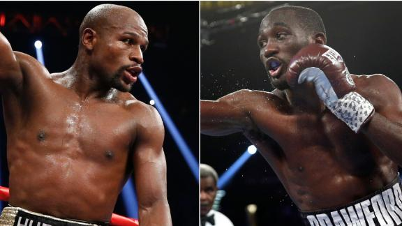 Could Crawford beat a prime Mayweather?
