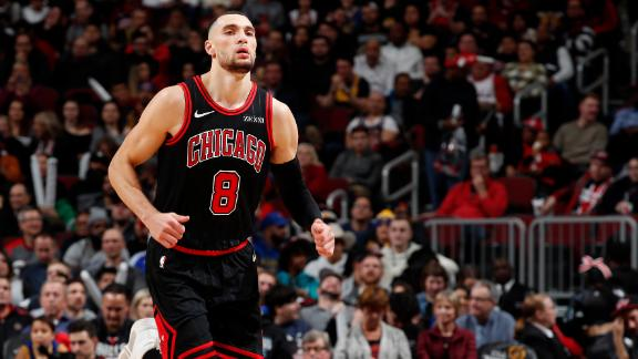 LaVine drops 21 in Bulls' loss