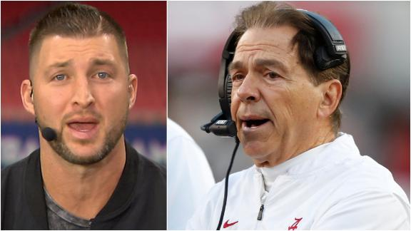Tebow doesn't believe Saban's reign of dominance is over