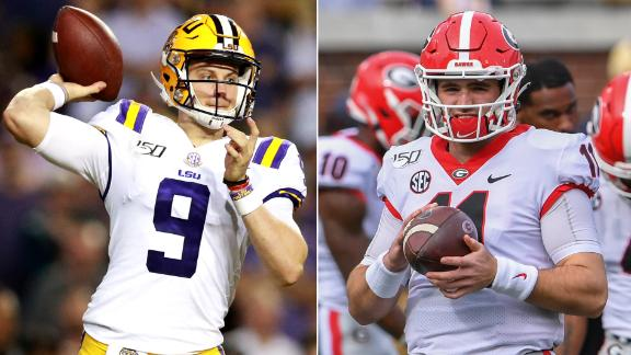LSU and Georgia ready for battle to decide SEC