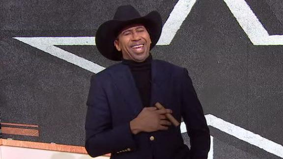 Stephen A. is back to troll Cowboys fans again