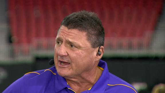 Orgeron: Burrow is the greatest LSU recruit