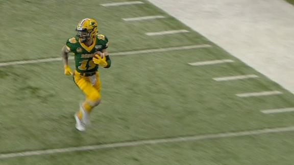 NDSU's Lance finds Kepouros for TD
