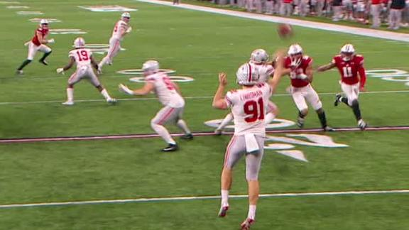 Ohio State runs fake punt to perfection
