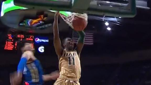 UAB's Benjamin finds Nicholson for the uncontested slam