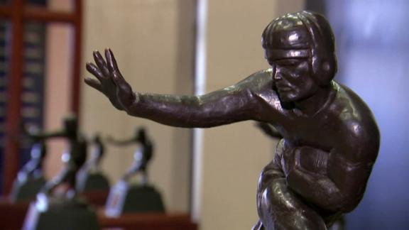 The tradition and intrigue behind the Heisman Trophy