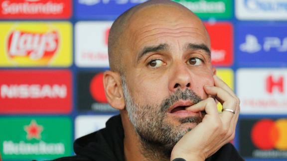 Así reaccionó Pep Guardiola a una pregunta sobre el VAR