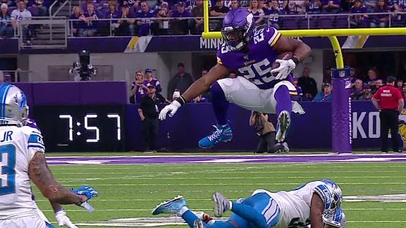 Mattison hurdles would-be tackler
