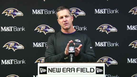 Harbaugh: Ravens celebrated clinching playoffs with light applause