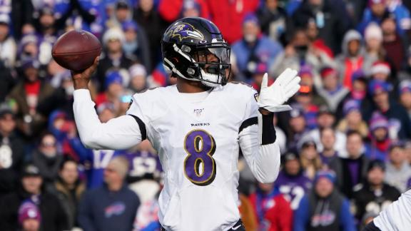 Jackson throws 3 TDs in win over Bills