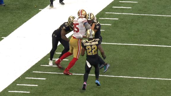Kittle's huge play leads to 49ers' winning FG