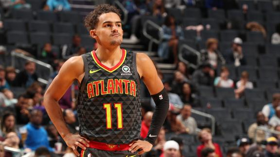 Trae drops 30 as Hawks handle Hornets