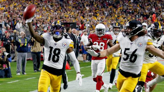 Steelers return punt 85 yards untouched for TD