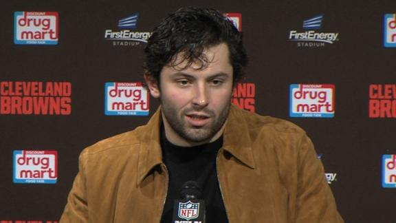 Mayfield blames Browns' training staff for mishandling OBJ's injury