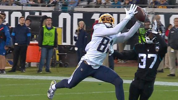 Williams dives for 44-yard TD catch