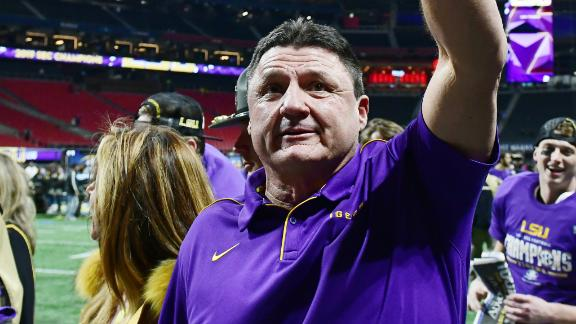 Orgeron: No. 1 seed didn't matter to us