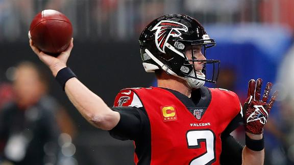 Ryan passes 50,000 career passing yards