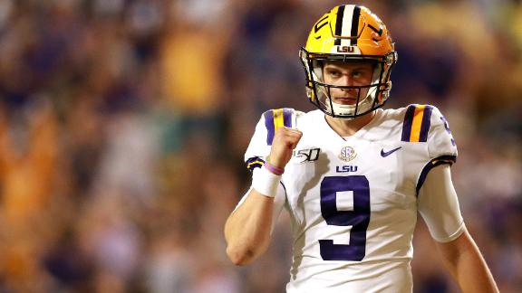 LSU ranked No. 1 in CFP rankings