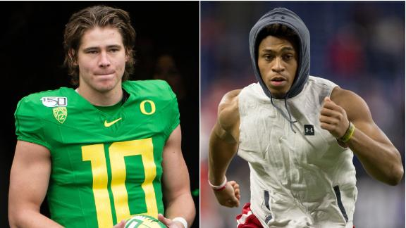 Oregon-Wisconsin set for Rose Bowl