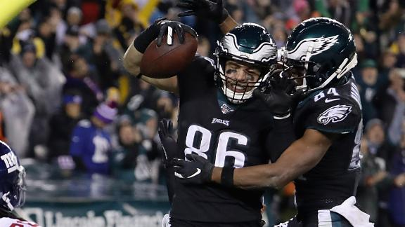 Eagles complete second-half comeback to beat Giants at home