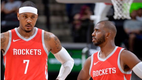 Spears: Morey should have been completely honest with Melo and CP3