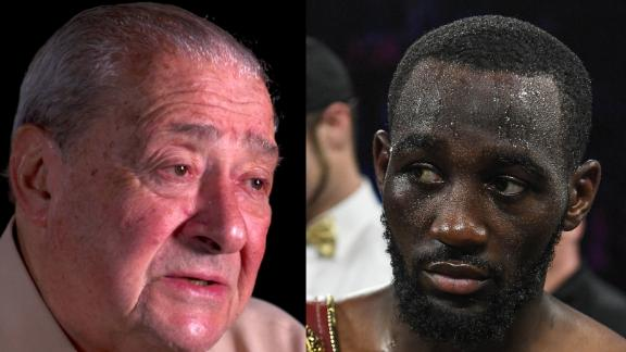 Arum calls Crawford a 'once-in-a-generation' fighter